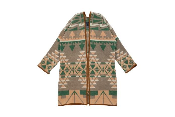 visvim's Latest Sanjuro Coat Features a Navajo-Inspired Print