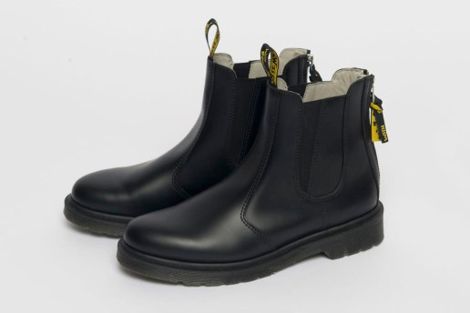 Yohji Yamamoto Puts His Spin on the Dr. Martens Chelsea Boot