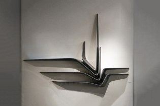 "Zaha Hadid x CITCO ""Valle"" Black Granite Shelf"