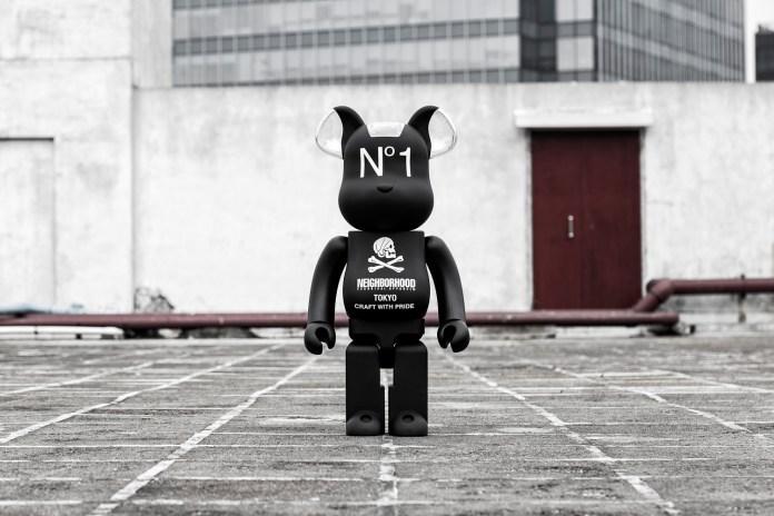 NEIGHBORHOOD x Medicom Toy 1000% Bearbrick