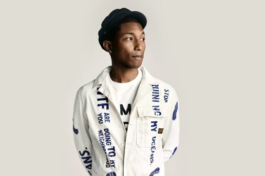 Interact With 20 Years of Pharrell Williams
