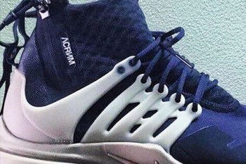 Take a Sneak Peek at the ACRONYM x Nike Air Presto