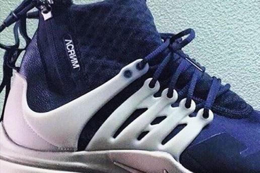 Take a Sneak Peek at the ACRONYM x Nike Air Presto