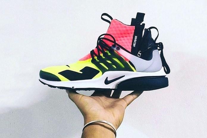 UPDATE: Take a Sneak Peek at the ACRONYM x Nike Air Presto