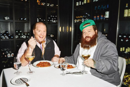See Action Bronson and Mario Batali Make Octopus Pasta