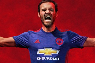 adidas Unveils Manchester United's Away Kit for 2016/17