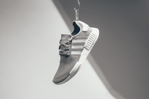adidas Drops a Grey/White Colorway of the NMD