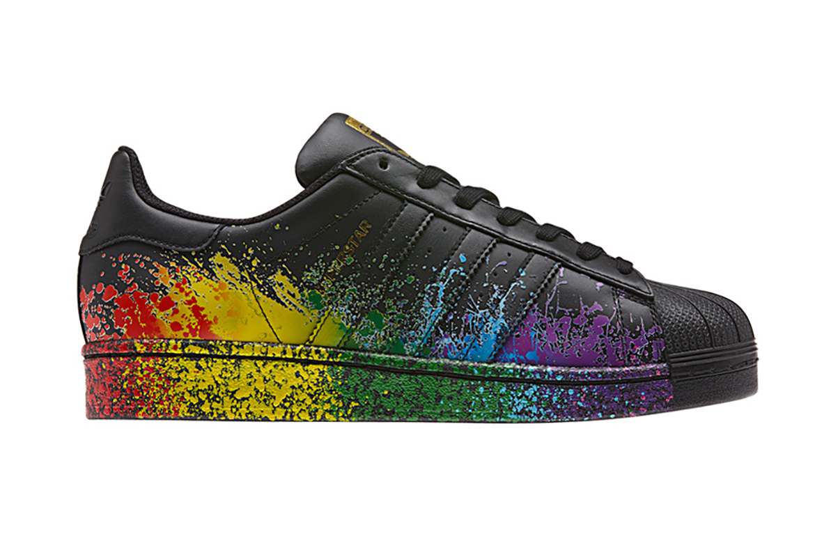 """adidas Originals Celebrates the LGBT Community With the """"Pride"""" Pack"""