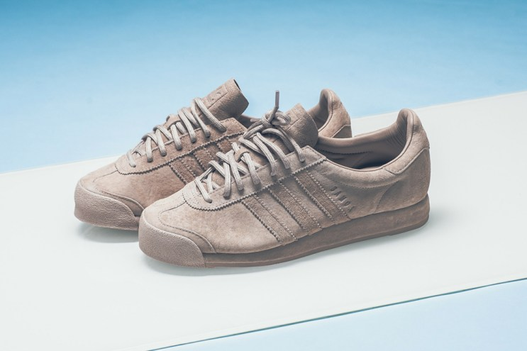 A Closer Look at the adidas Samoa in Vapor Grey