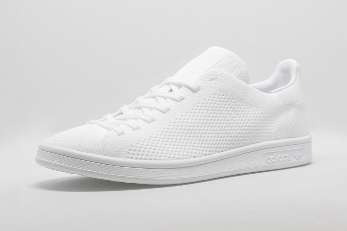 adidas Releases the Primeknit Stan Smith in Triple White & Black