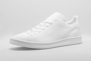 adidas Releases the Primeknit Stan Smith in Triple White & Black