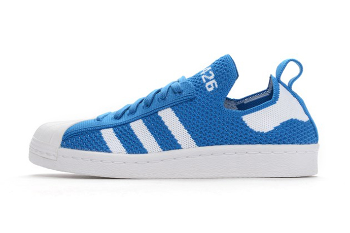 adidas Dresses Its Slip-On Primeknit Superstar in Blue