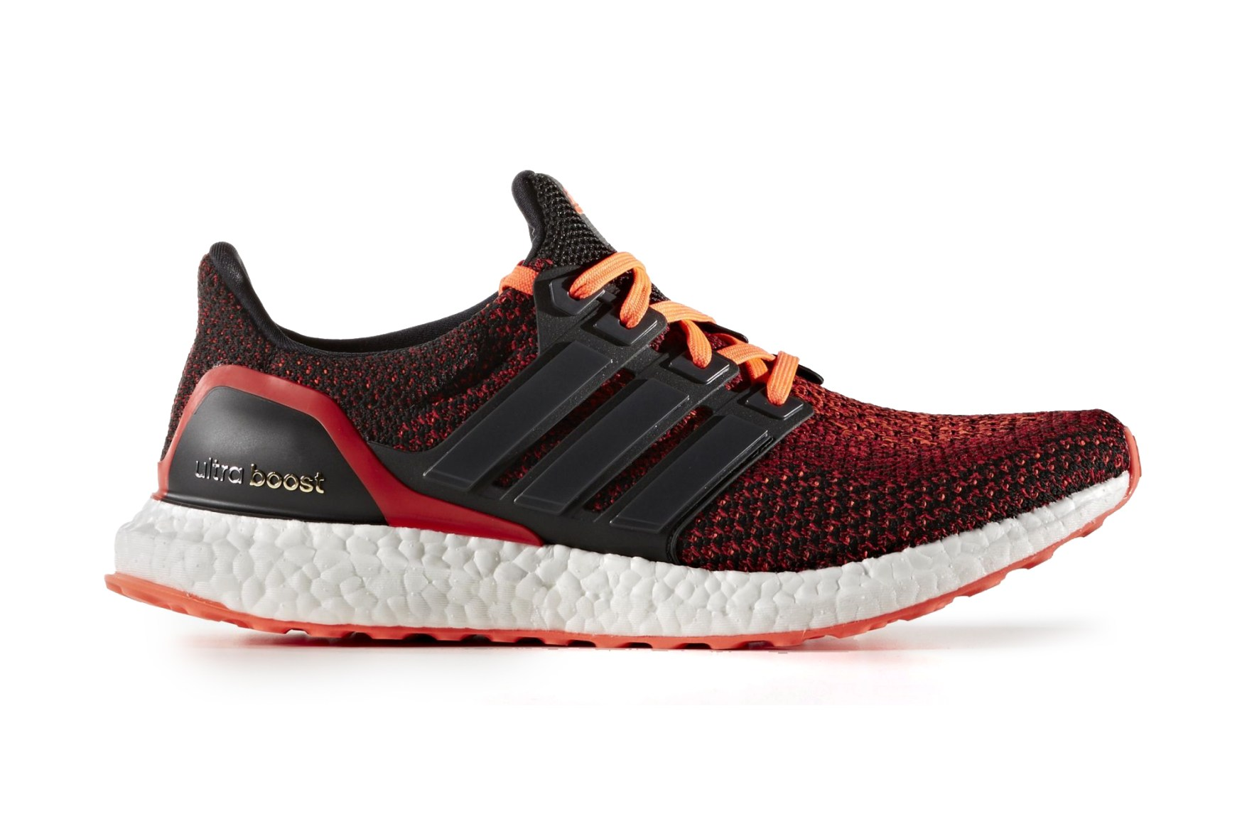 Ultra Boost Red Black