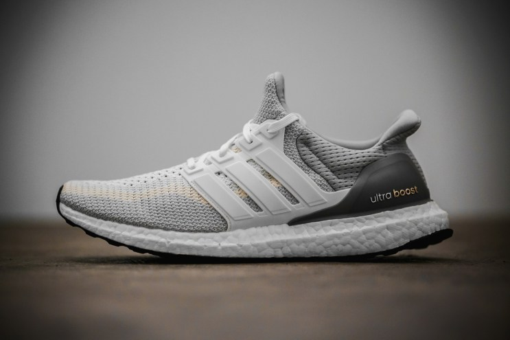 """A Closer Look at the adidas Ultra Boost """"Gray/Off-White"""""""