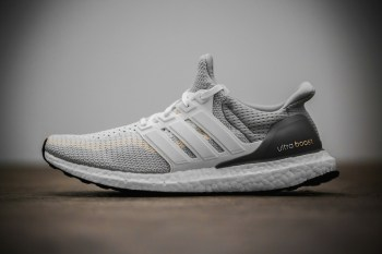 "A Closer Look at the adidas Ultra Boost ""Gray/Off-White"""