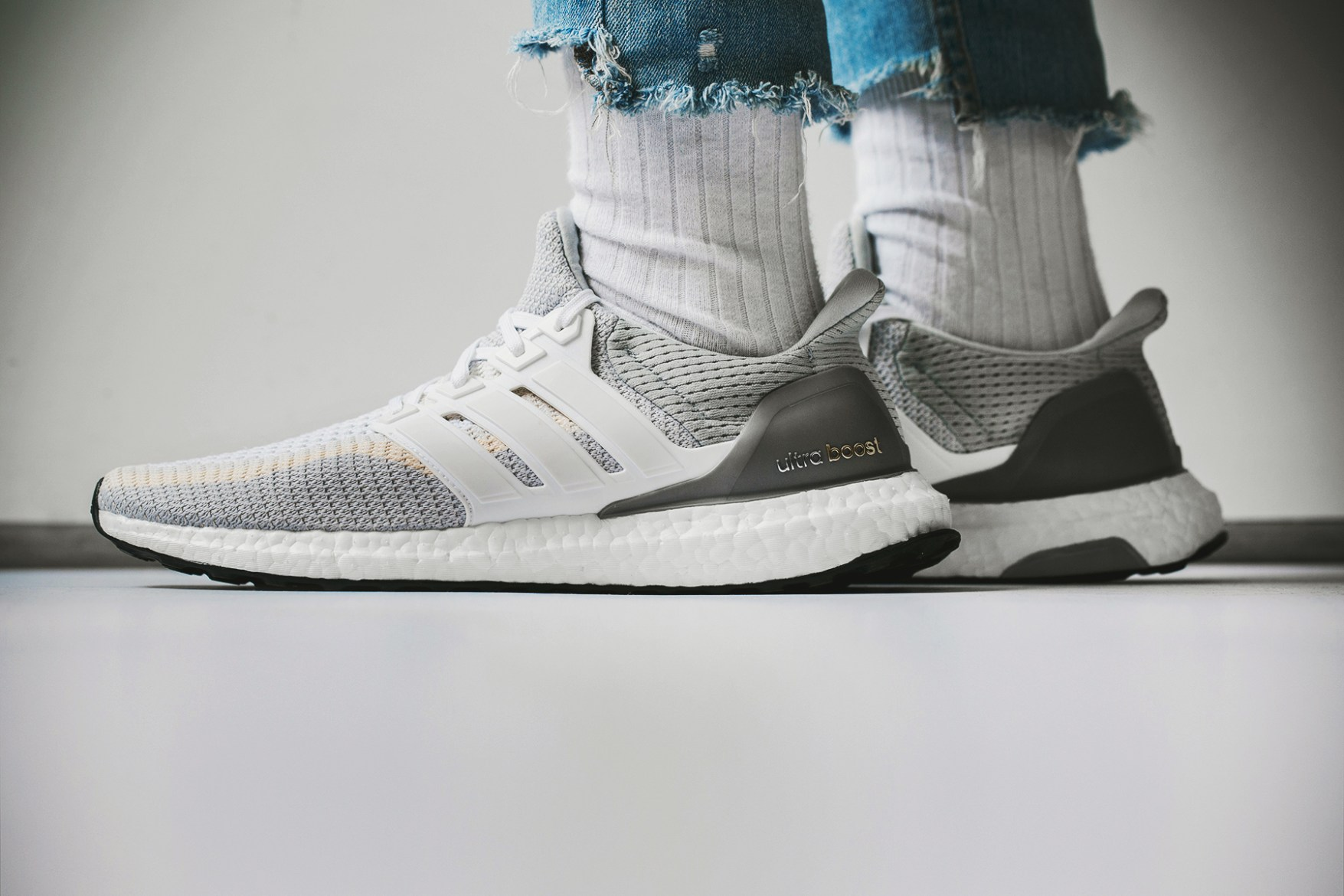 Adidas Ultra Boost White Gradient
