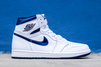 "Air Jordan 1 High OG Gets Re-Released in Original ""Metallic Navy"" Colorway"
