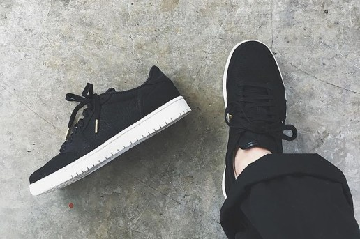 "Air Jordan 1 Low ""Swooshless"""