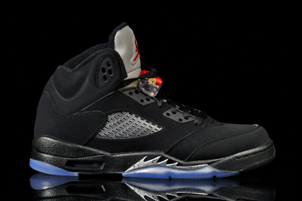 The Air Jordan 5 OG Black/Metallic Is Returning This Summer