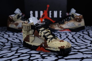 Air Jordan 5 Supreme Made of LEGOs