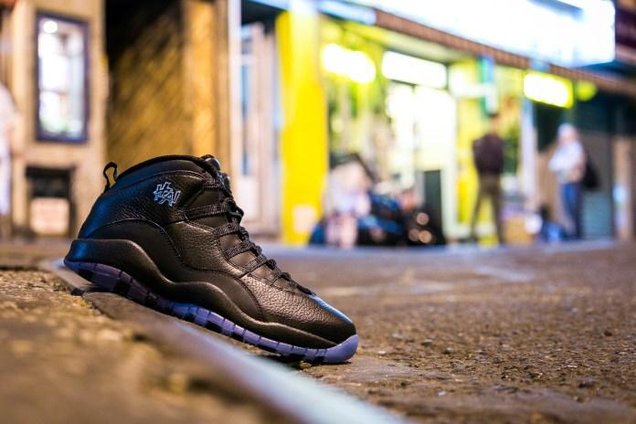 """A First Look at the Air Jordan 10 """"City Pack: Shanghai"""""""
