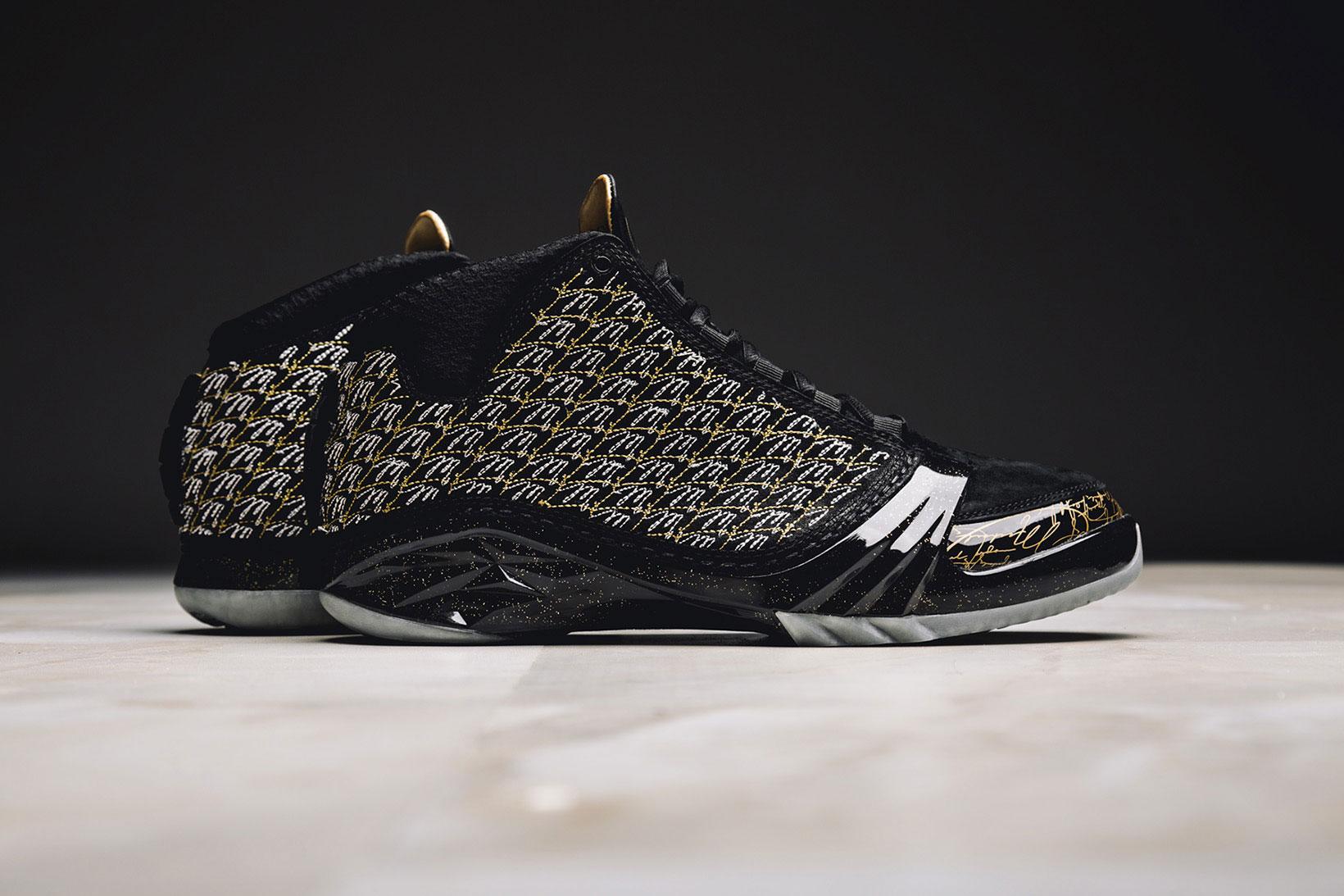 "A Closer Look at the Air Jordan XX3 ""Trophy Room"" in Black"