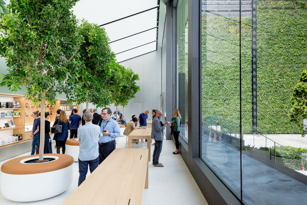 Apple to Bring the Outside into Its Interiors with Huge Apple Store Revamp