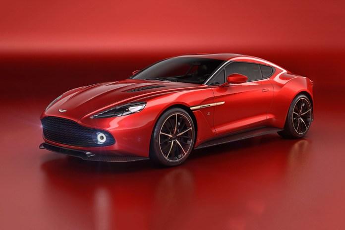 Aston Martin and Zagato Preview Their Carbon Fiber Vanquish