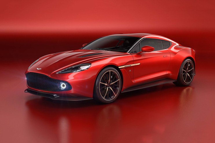 Aston Martin and Zagato Preview Their Carbon Fiber Vanquish