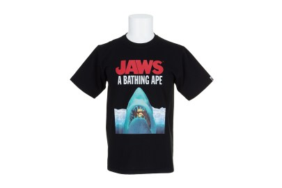 BAPE Links Up With 'Jaws' for 2016 Spring/Summer Tees