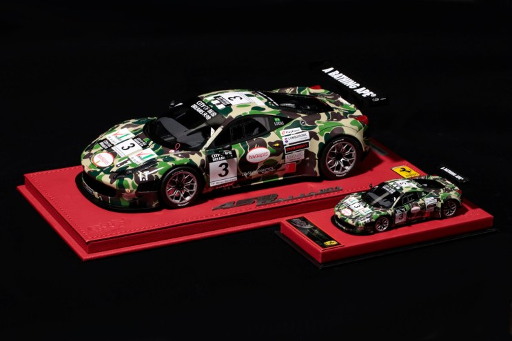 Here's a BAPE'd out Ferrari You Can Afford