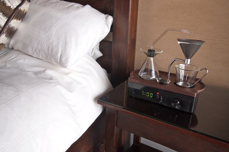 The Alarm Clock That Makes You Coffee Is Now a Reality