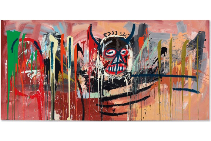 Basquiat's 'Untitled' Sets New Sales Record at Christie's Auction