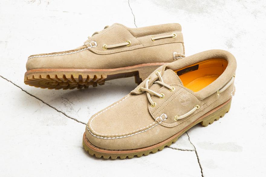 BEAUTY & YOUTH Customizes Timberland's Classic 3-Eye Shoe