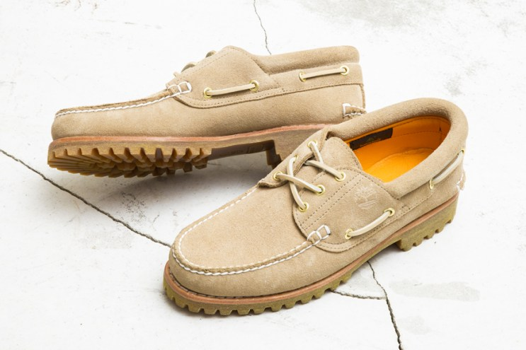 BEAUTY & YOUTH Customizes Timberland's Classic 3-Eye Shoe