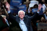 "Picture of Watch Bernie Sanders Enter His Campaign Rally to DMX's ""Where The Hood At"""