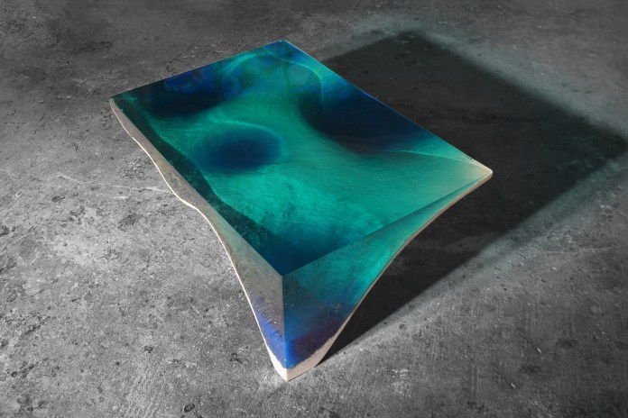 Bring the Ocean to Your Living Room With the delMare Table