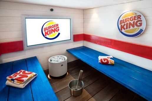 Finland Is Now Home to a Burger King Sauna