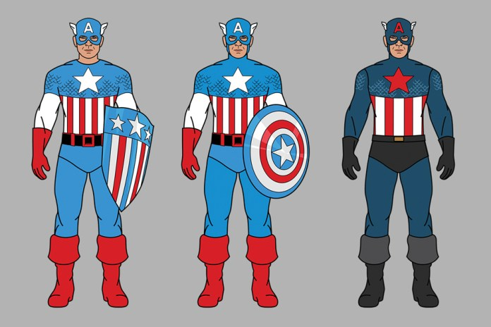 Celebrate 75 Years of Captain America With a Reflection of the Hero's Costume Evolution