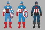Picture of Celebrate 75 Years of Captain America With a Reflection of the Hero's Costume Evolution