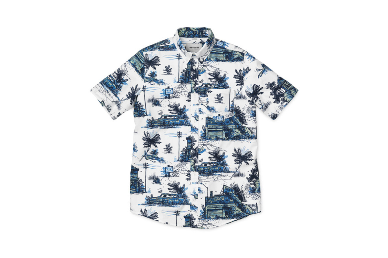 "Carhartt WIP Readies for Summer With Hawaiian Shirt-Inspired ""Ghetto Palm"" Apparel"