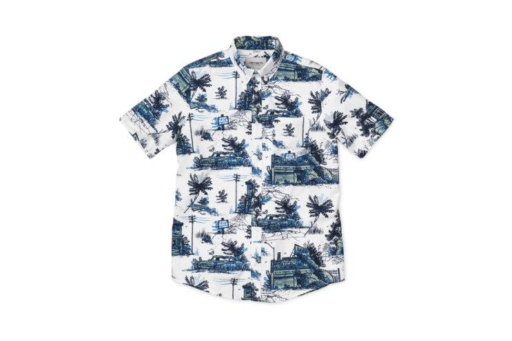 "Carhartt WIP Readies for Summer With Hawaiian Shirt-Inspired ""Ghetto Palm"" Apparel"