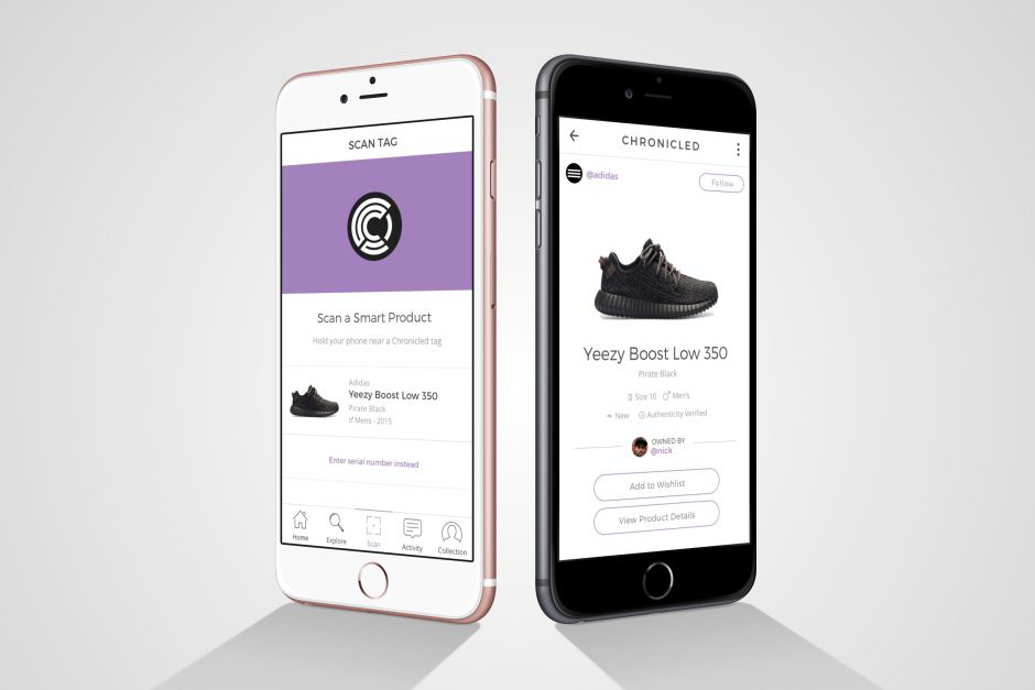 """Sneaker Authentication App """"Chronicled"""" Bolsters Its Roster With Industry Heavyweights"""