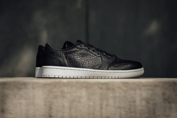 "A Closer Look at the Air Jordan 1 Low ""Swooshless"""