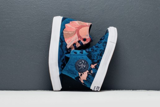 "Jacquard Embroidery Decorates the Converse Chuck II in the ""Engineered Canvas"" Pack"