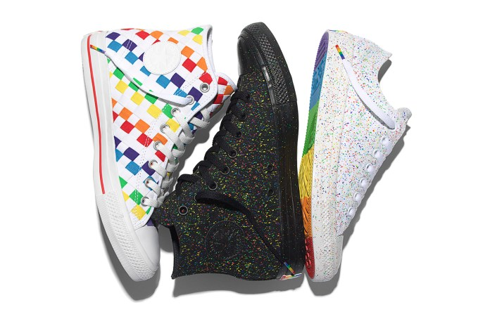 Converse Celebrates the Global Pride Movement With Rainbow Chucks