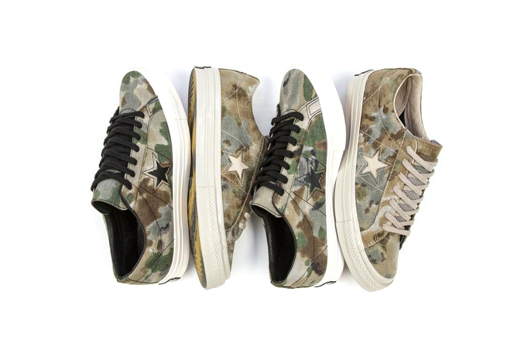 """Converse First String CONS One Star 74 """"Brookwood Camo"""" Pack"""