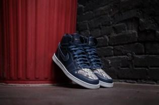 "Custom Air Jordan 1 ""Blue Horween"" by The Shoe Surgeon"