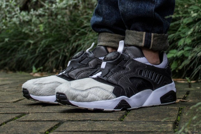 DEAL Wraps the PUMA Disc Blaze in Panda Fur