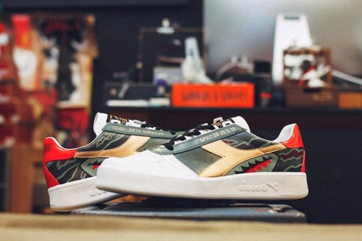SBGT Customizes the Diadora B.Elites
